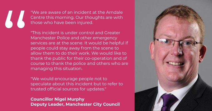City Council respond to stabbing incident