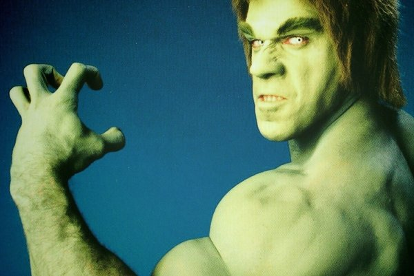Lou Ferrigno of 1977's hit show The Incredible Hulk