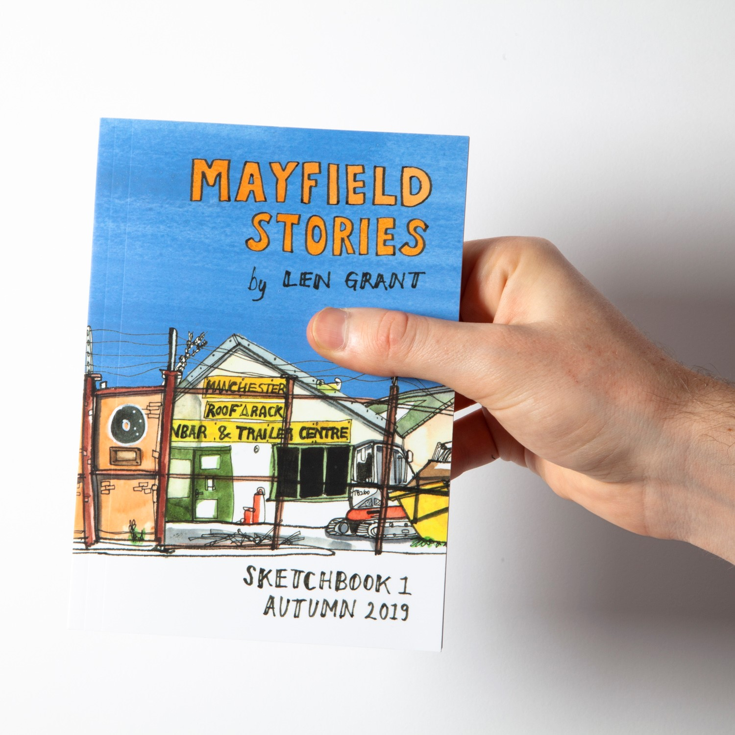Mayfield, sketches, Manchester, Len Grant, redeveloment