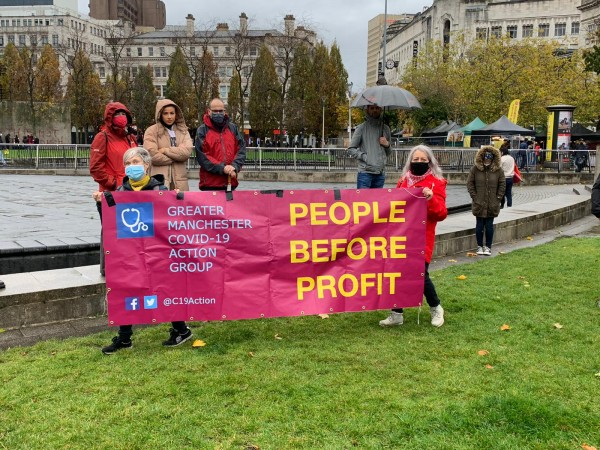Tier 3, covid, march , People's Assembly, protest