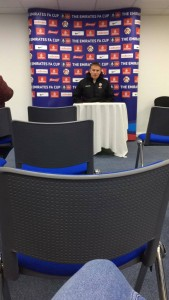 Bolton Manager in press conference