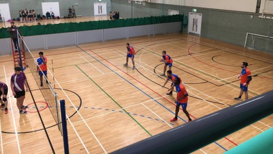 Men's Volleyball versus University of Manchester