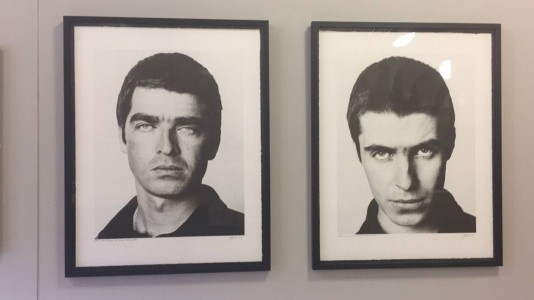 Brother Noel and Liam Gallagher