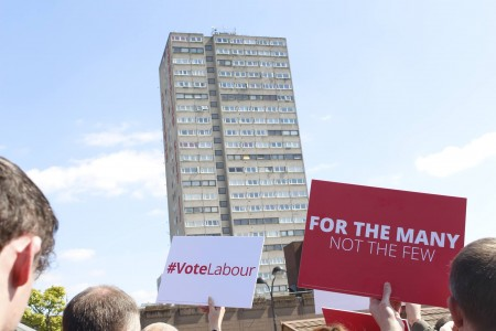 Labour election placard