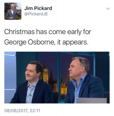 George Osborne on ITV