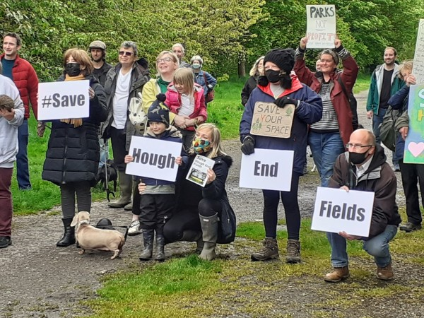 Save Hough End campaigners