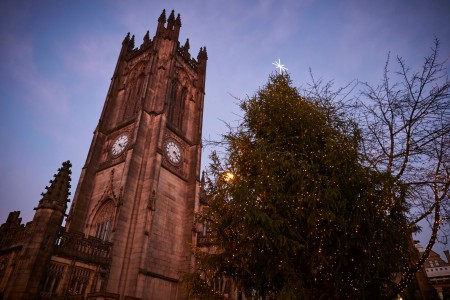 Manchester Christmas tree
