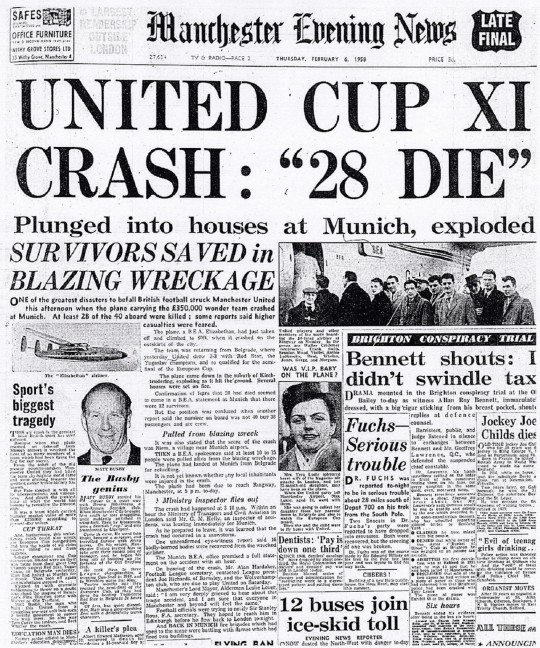 United Cup XI Crash - 28 Die - Manchester Evening News