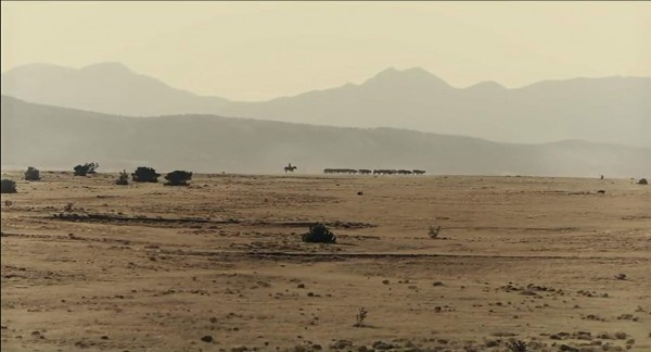 Landscape shot from Buster Scruggs