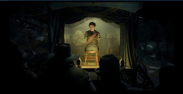 Harry Melling in Meal Ticket