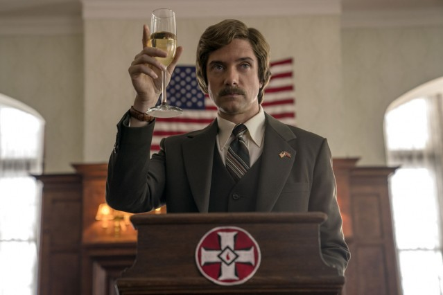 Topher Grace in BlacKkKlansman