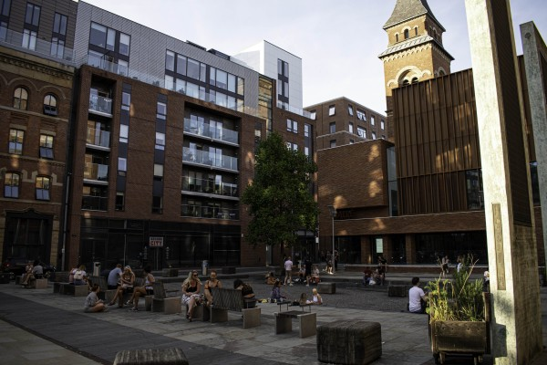 Cutting Room Square in Ancoats