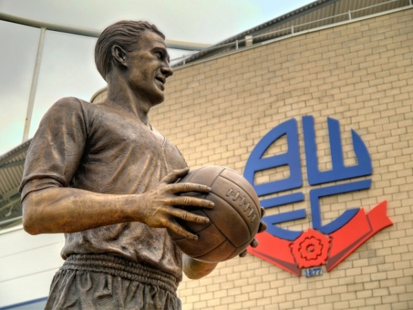 Bolton Wanderers statue