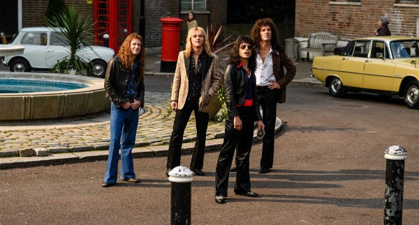 The four members of Queen