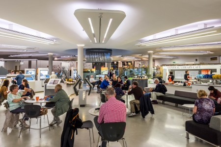 Central Library cafe and Archives+ Centre