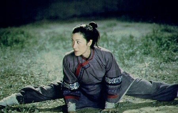   Zhang Ziyi and Chow Yun-Fat in Crouching Tiger, Hidden Dragon. Credit: Sony Pictures  