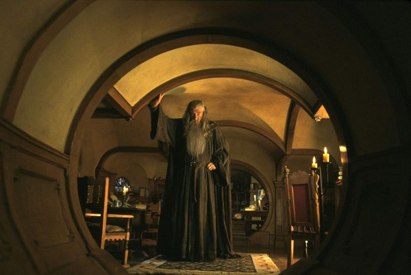 Scene from Lord of the Rings