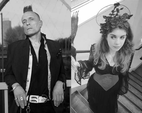 Community Action Stage hosts John Robb and Emily Oldfield