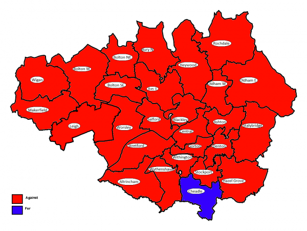 How MPs voted in Greater Manchester