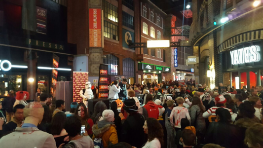 Haloween at the Printworks Manchester
