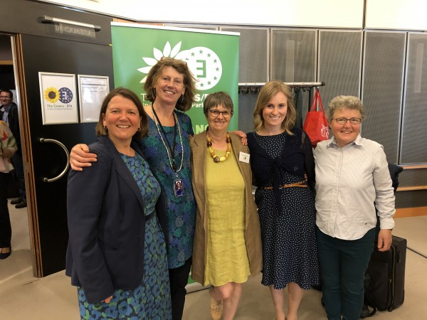 Newly elected Green MEPs