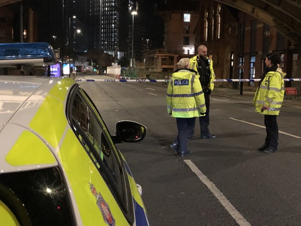 Police Cordon on Deansgate