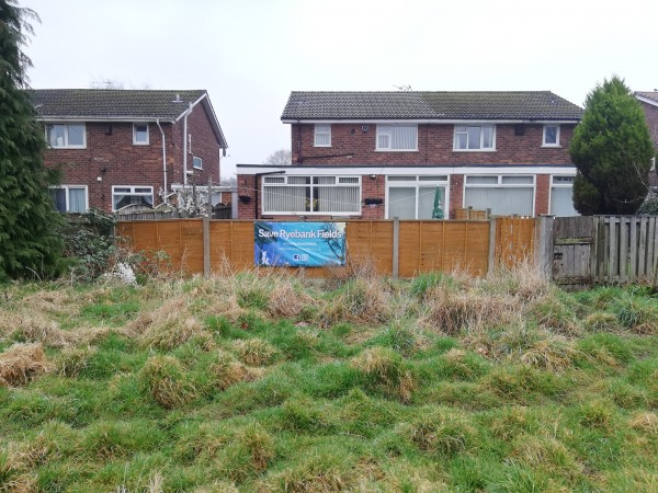 Save Ryebank Fields banner
