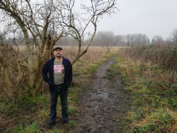 Nigel Woodcock of Friends of Ryebank Fields