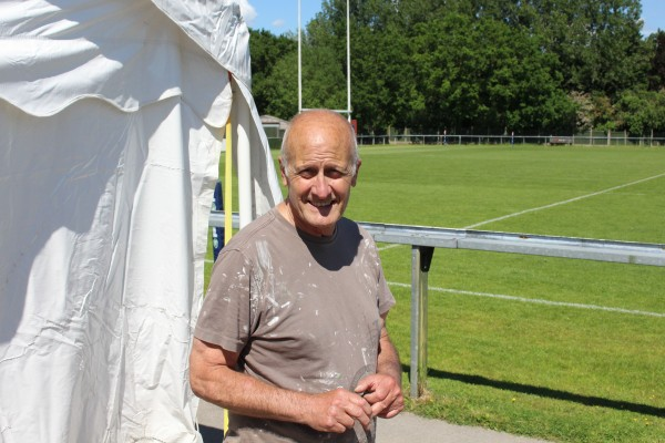 Peter Buxdon, member of Manchester rugby club