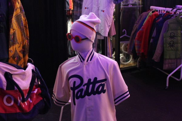 A mannequin wearing a Patta shirt