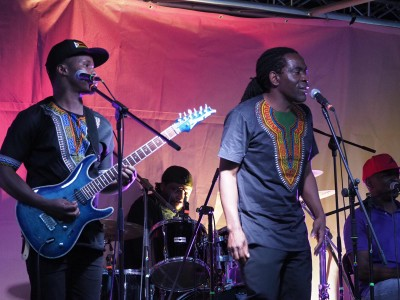 Zee Guveya & The Heritage Survival Band - Photo by Robert Whiteoak
