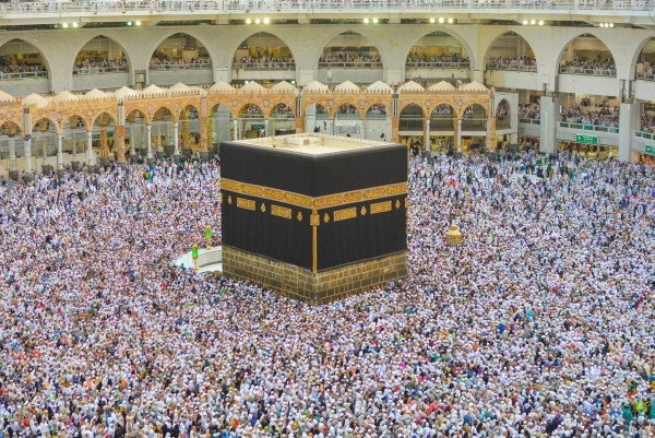 The Kaaba, filled to capacity during the month of Ramadan 2018