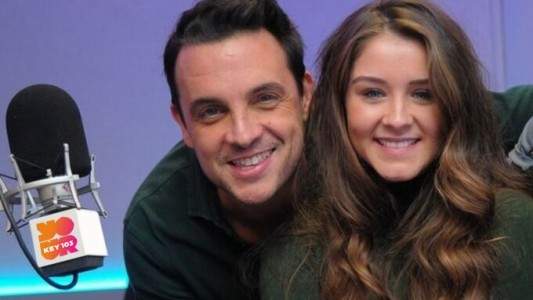 Key 103's Mike Toolan and Coronation Street's Brooke Vincent