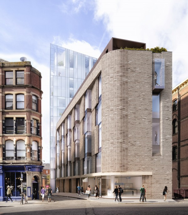 Salboy's Option 1 for Back Turner Street Manchester