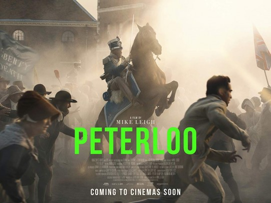 Movie poster for Peterloo