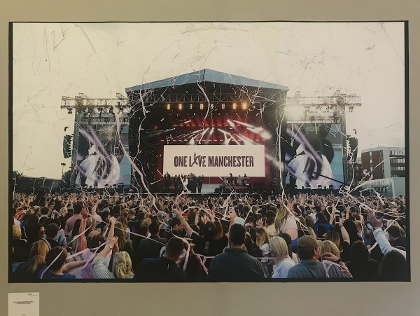 There Is A Light That Never Goes Out, Manchester Central Library, Photo Exhibition, Music, One Love Manchester