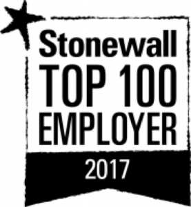 Stonewall Top 100 Employer logo