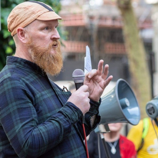 Nick Hubble campaigner Greater Manchester bicycle lanes