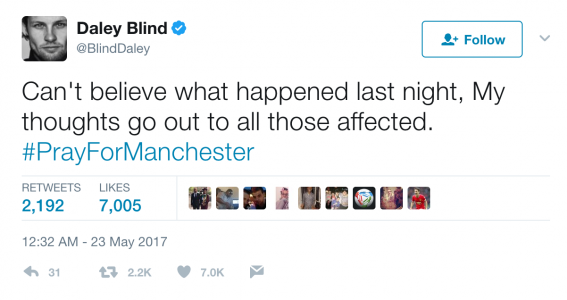 Daly Blind twitter