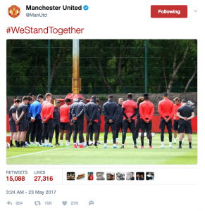 Manchester United twitter