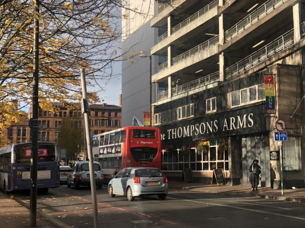 The Polish Consulate is based opposite the Thompson Arms