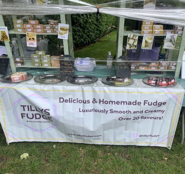Tilly's fudge stall