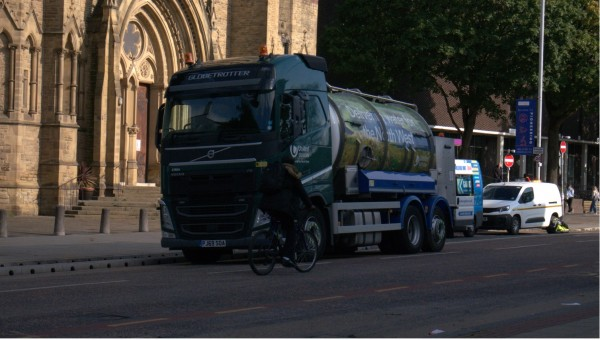 Flooding, Oxford Road, University of Manchester, United Utilities