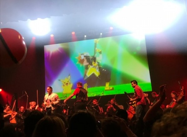 Video Live Concert Pokemon finale