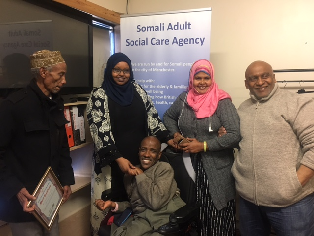Sasca, Somali, charity, funding, Manchester City Council, Moss Side