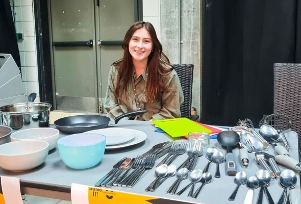 Don8 It project, kitchenware, the Union, donations, charity project
