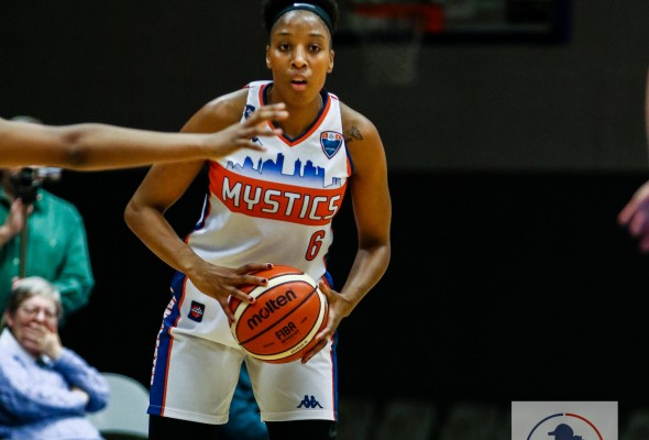 Mystics vs Wolves. Photo: All Sports Photography