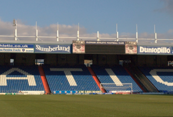 Oldham's home stadium