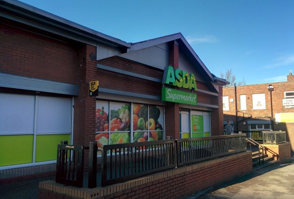 Asda store that was attacked