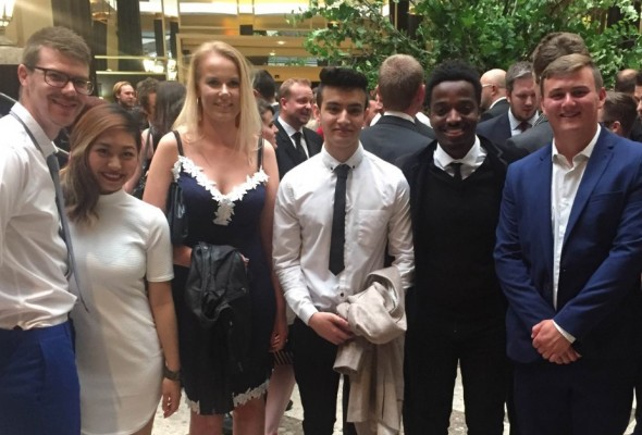 MMU students at Big Chip awards